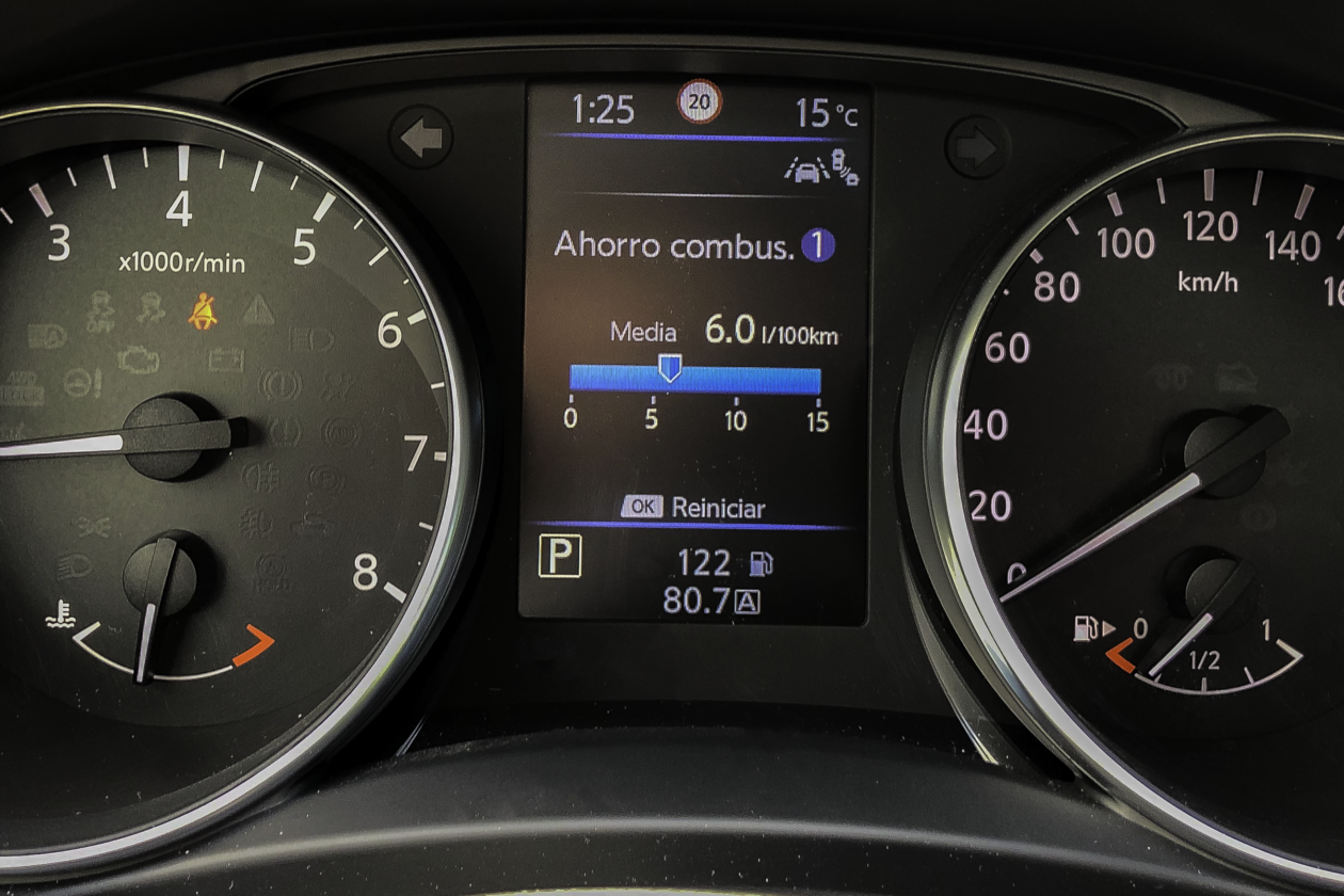 Taco%CC%81metro Nissan Qashqai 1260x840 - Nissan Qashqai 2019: Ahora con un motor ya visto en Mercedes